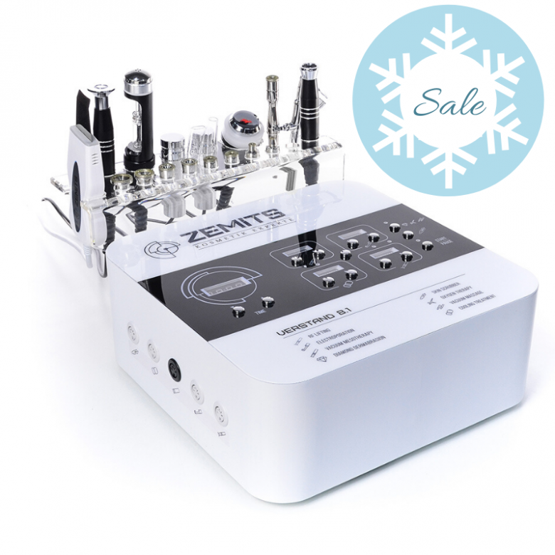 ZEMITS  Verstand 8.1 8 in 1 Facial Machine | Advance Esthetic