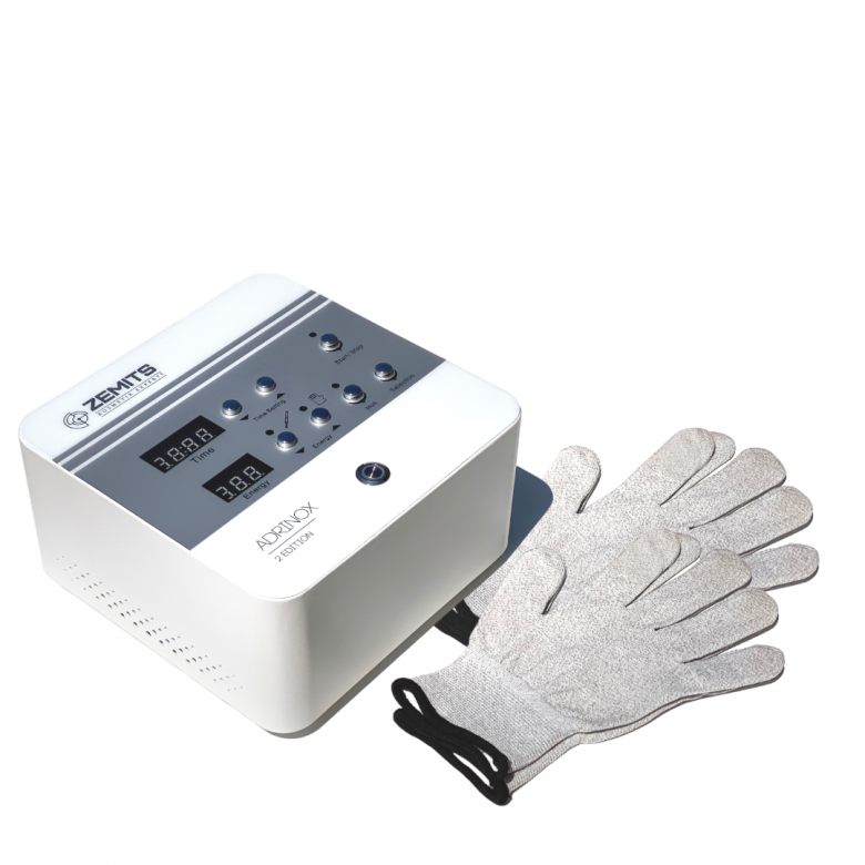 Zemits Adrinox ProGloves Dynamic Microcurrent Gloves Technology | Advance Esthetic