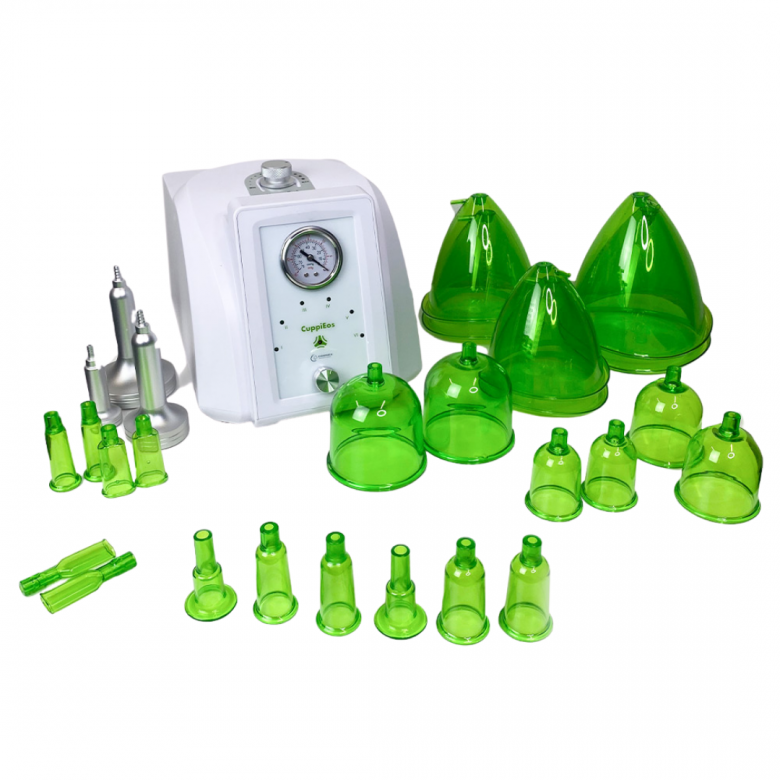 OOMNEX CuppiEos Vacuum Cupping Slimming System for Face and Body | Advance Esthetic