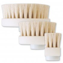 Facial scrubber brush