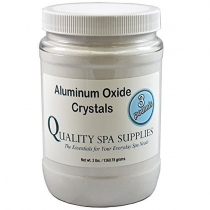 Aluminum Oxide Crystals - Peeling Crystals - 120 Grit, Pure White, 3lbs | Advance-Esthetic