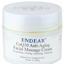 Coq10 Facial Massage Cream, 250g | Advance-Esthetic