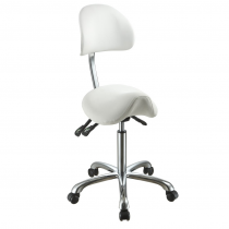 Hydraulic saddle stool Lolli SA | Advance-Esthetic