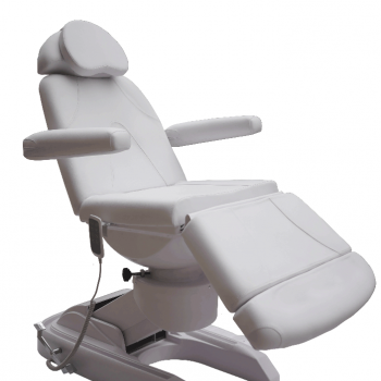 4 motor electric facial bed white CH-2137A | Advance Esthetic